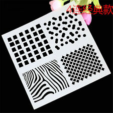 DIY 4 Style Classic Pattern Stencil for art craft spray cake and Home decor