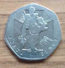 150TH ANNIVERSARY OF THE INSTITUTION OF THE VICTORIA CROSS 50p FIFTY PENCE COIN