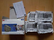 4 pairs 3M 6059 ABEK1 Organic Vapour Filters Painting Cartridge, mask respirator