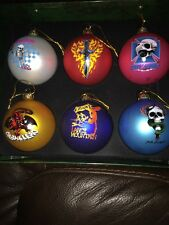 Powell Peralta Bones Brigade 2015 Ornaments Set of 6 including Tony Hawk NIB