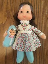 Vintage 1975 Mattel New W/out Box Mama and Baby Beans dolls