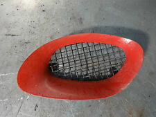 MGF 1996-2002 1.8 NSR Quarter air vent feed duct in red inc mesh