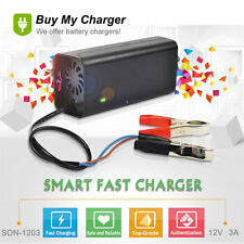DC12V 3A 4ah~50ah Lead Acid/GEL Battery Charger AC100V ~240V
