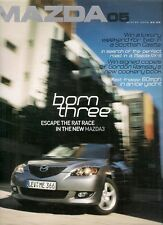Mazda Magazine No5 Winter 2003 UK Market Brochure 3 5 MX-5 6 RX-8 R360C
