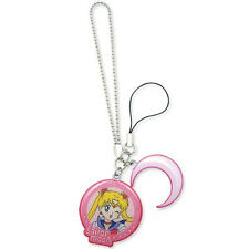 *NEW* Sailor Moon & Crescent Moon Symbol Cell Phone Charm