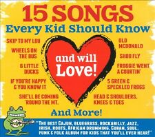 15 Songs Every Kid Should Know (and will Love!) by Bossy Frog presents