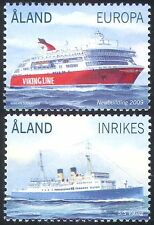 Aland 2009 Ships/Ferries/Boats/Nautical/Commerce/Transport 2v set (n41562)