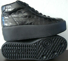 ASH CLIP BIS High Top Sneaker Oxford Halbschuhe Boots Stiefelette Leder Gr37 NEU