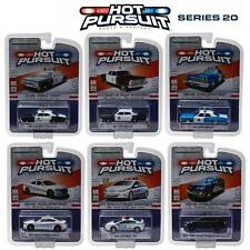 GREENLIGHT 42770 HOT PURSUIT SERIES 20, SET OF 6 POLICE CARS DIECAST 1:64