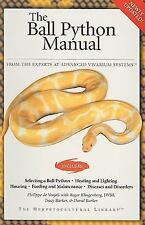 The Ball Python Manual Herpetocultural Library