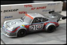 CODEX Finish Line + NIGHT VERSION PORSCHE RSR Turbo #21 Le Mans 1974  Norev 1:18