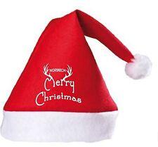 Feliz Navidad Santa Sombrero De Ventilador Norwich City