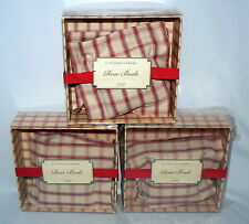 SET OF 3 SACHETS ROSE PETALS BY A TUSCAN GARDEN 2 OZ GIFT BOX RED BUDS FLOWER