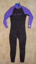 BODY GLOVE Purple Water Ski 3/2mm Full Body NEOPRENE WET SUIT Size Men MEDIUM