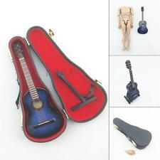 1/6 scale BLUE ACOUSTIC GUITAR model musical instrument music action figure