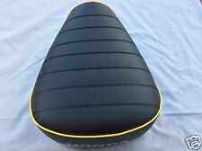 HONDA CT90 K1-K3 1969-1971 Brand New Custom SEAT with *Yellow Piping*