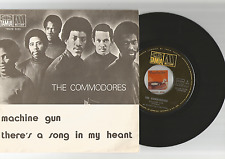 The Commodores MACHINE GUN 7/45 vinyl single from Portugal Lionel Richie