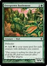 OVERGROWN BATTLEMENT Rise of the Eldrazi MTG Green Creature — Wall Com