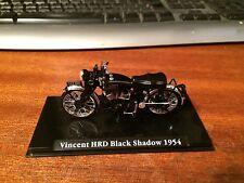 Atlas Editions 1/24 Scale Classic Motorbikes Vincent HRD Black Shadow