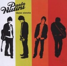 "PAOLO NUTINI ""THESE STREETS"" CD NEUWARE"