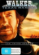 WALKER TEXAS RANGER : SEASON 3 -   DVD - UK Compatible & Sealed