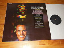 HARRY BELAFONTE - TO WISH YOU A MERRY CHRISTMAS / GERMANY-RCA-LP