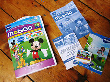 Vtech V Tech MobiGo 1 + 2 Mickey Mouse Clubhouse Game boxed w instructions