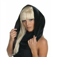 Lady Gaga Black Headscarf BRAND NEW Womens Costume Scarf Officially Licensed
