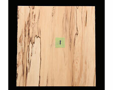 "Guitar Rosette Blank, Spalted Maple 5 3/8"" square #1"