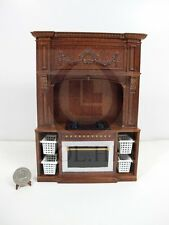 1:12 Scale French Provincial Glamorous Stove Cabinet For Doll House Kitchen