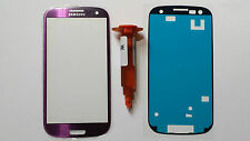 Samsung Galaxy S3 SIII Genuine Glass Replacement Screen Lens Loca + Adhesive