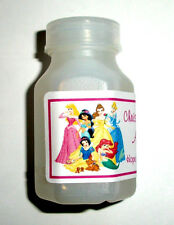 30 DISNEY PRINCESS BIRTHDAY PARTY FAVORS BUBBLE LABELS