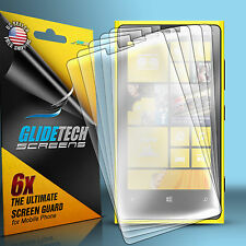 6 Pcs HD Clear LCD Screen Protector Guard Film For Nokia Lumia 920 AT&T