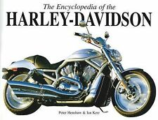 The Encyclopedia of the Harley Davidson by Peter Henshaw and Ian Kerr (2010,...