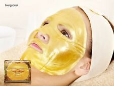10 GOLD Bio-Collagen Facial MASK Crystal, colageno mascarilla, colageina 10