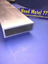 "6061 T6 Aluminum Rectangle Tube  2"" x 6"" x 48"" x 1/4""-- 2"" x 6"" x .250"" Wall"