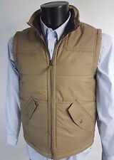 TIMBERLAND Beige Padded GILET VEST BODYWARMER Quilted M BNWT