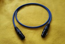 Mogami 2534 XLR-M (male) to XLR-F (female) HiFi Balanced Audio Cable -Blue-15 Ft