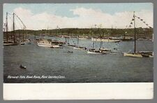 [54482] OLD POSTCARD HARVARD-YALE BOAT RACE, NEW LONDON, CONN. (UNDIVIDED BACK)
