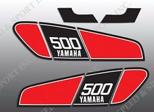 VINTAGE YAMAHA 76 1976 TT500 XT500 XT TT 500 TANK DECALS GRAPHICS ONLY