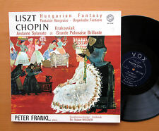 VOX GBY 12500 Liszt Hungarian Fantasy Chopin Rondo Peter Frankl 1963 NM/EX Mono
