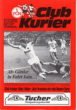 II. BL 84/85 1. FC Nuremberg - 1. FC Saarbrücken, 28.09.1984