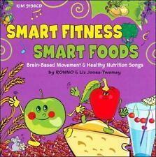FREE US SH (int'l sh=$0-$3) NEW CD RONNO & Liz Jones Twomey: Smart Fitness, Smar