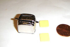 Miniature Doll Sized Accessory Mini Toaster and Bread For dm001