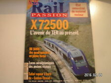** Rail Passion n°15 BB 16000 / X 72500 avenir du TER au présent / Golden Thread