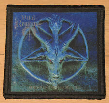 "VITAL REMAINS ""FOREVER UNDERGROUND"" silk screen PATCH"