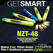Limitless NZT-48+Restoramones™ for Improved Nootropic Response - 4+5 Doses
