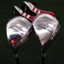 TaylorMade Burner Superlaunch 3h&4h Hybrid SET - LEFT HAND - Graphite STIFF NEW