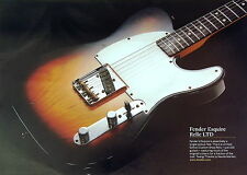 Fender Esquire Relic LTD Guitar Fine Art Print size 295 x 208mm