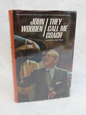 SIGNED BY AUTHORS John Wooden THE CALL ME COACH As Told to JACK TOBIN 1973 HC/DJ